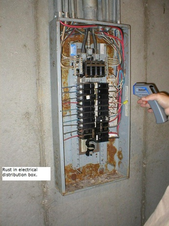 Crestwood Home Inspection Rust In Electrical Distribution
